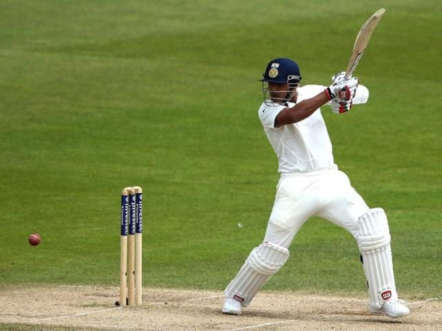Stuart-Binny-bats-on-the-final-day-of-the-first-cricket-Test-match-between-England-and-India-at-Trent-Bridge-in-Nottingham-AFP-photo