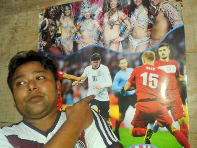 Assam fan exhumes buried Scotch to celebrate German WC victory