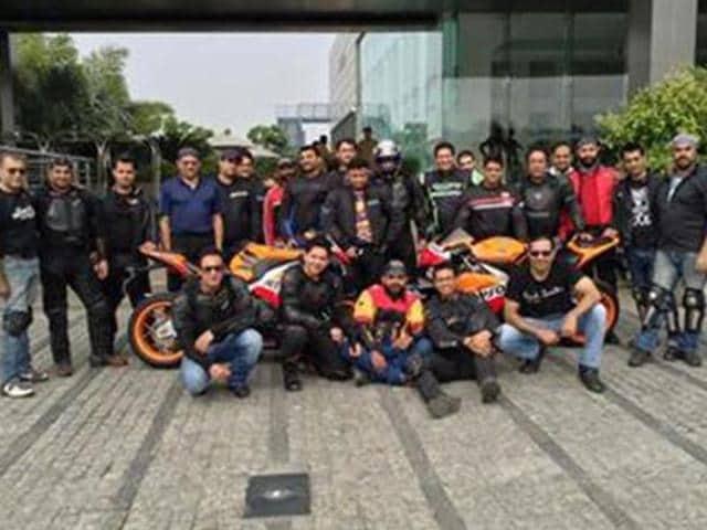 honda,big bike ride to promote safety,HMSI