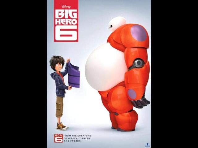 big hero 6,trailer,release