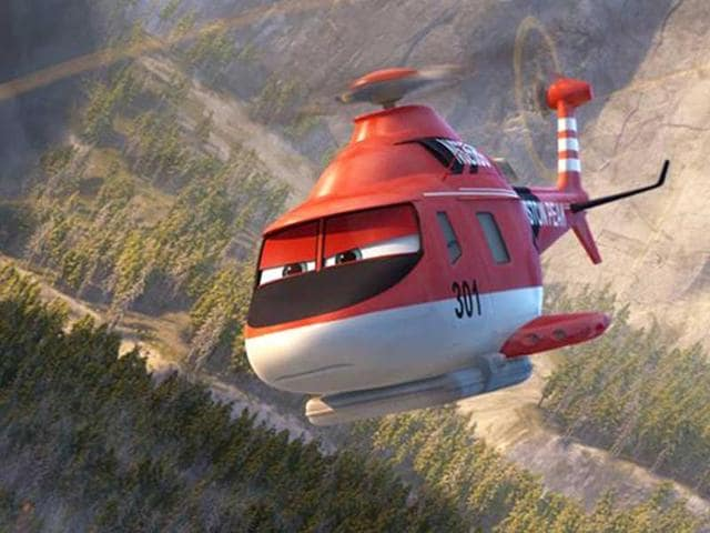 Planes: fire and rescue,review,movie