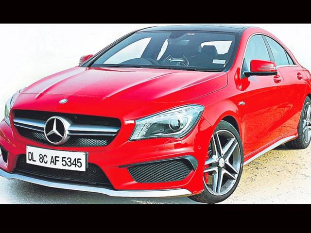Drawn-on-the-same-lines-as-the-A-class-the-CLA-45AMG-is-a-definite-head-turner