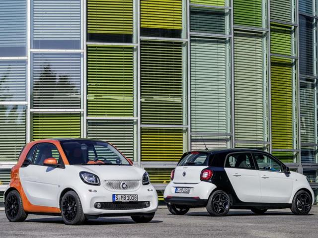 new Smart fortwo,Smart's high-end models,Smart adds new equipment to next-generation fortwo and forfour