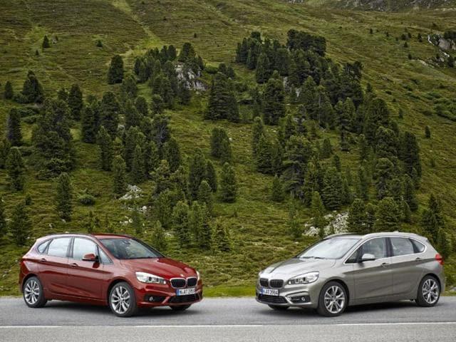 new BMW 218d Active Tourer