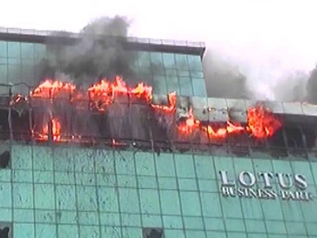 Mumbai fire