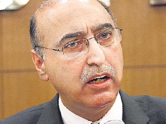 "Pakistan envoy Abdul Basit has said, ""There is no hostile environment. We are two neighbours and we will have to talk. We will talk."""