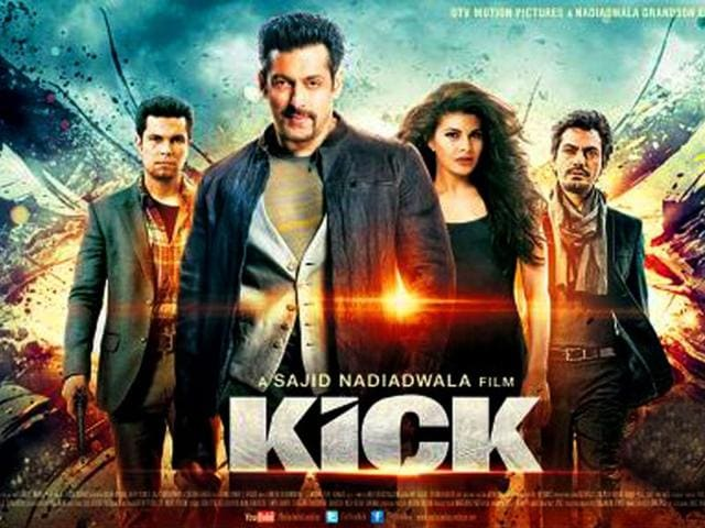 Salman launches mobile game on upcoming movie 'Kick' | bollywood