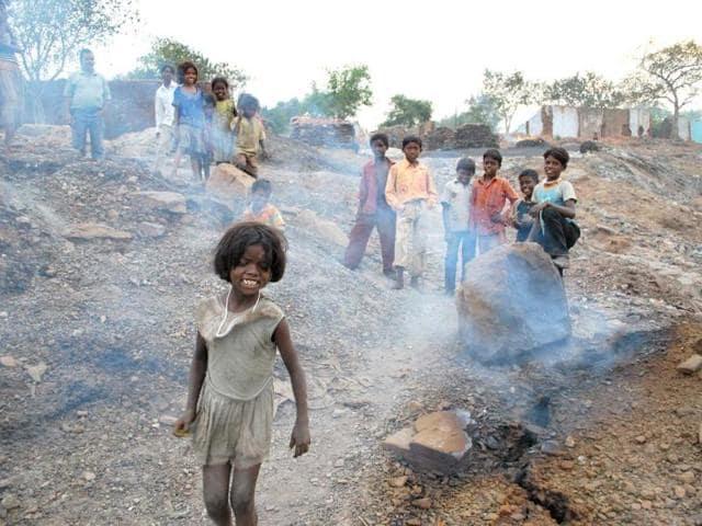 Gas-coming-out-of-the-ground-in-Jharia-coalfields-of-Dhanbad-Bijay-HT-photo