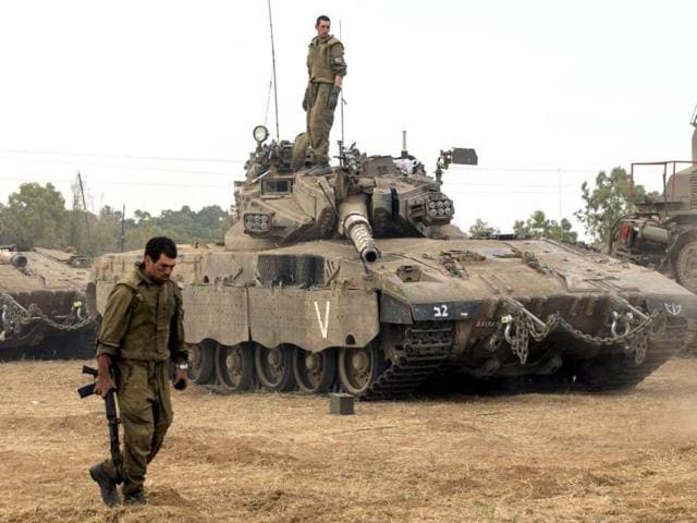 An-Israeli-soldier-takes-position-outside-the-Gaza-Strip-REUTERS-Photo