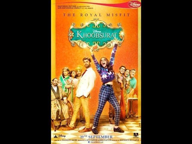 Sonam Kapoor,Khoobsurat,new poster