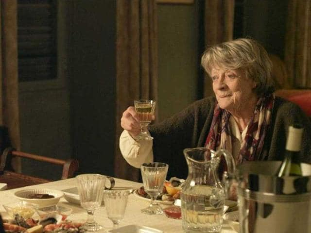 maggie smith,my old lady,first trailer