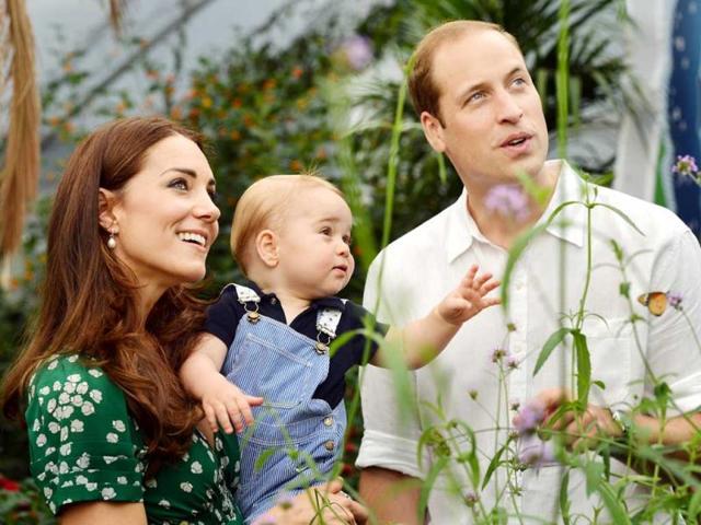 Britain,Prince George,first birthday
