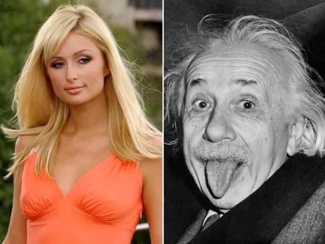 Paris Hilton,Einstein,similarity