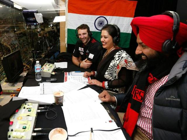 From-left-Essendon-captain-Jobe-Watson-with-broadcaster-Manpreet-Singh-and-community-radio-presenter-Gurtej-Singh-in-the-Hindi-Punjabi-commentary-box-Photo-Michael-Willson-AFL-Media