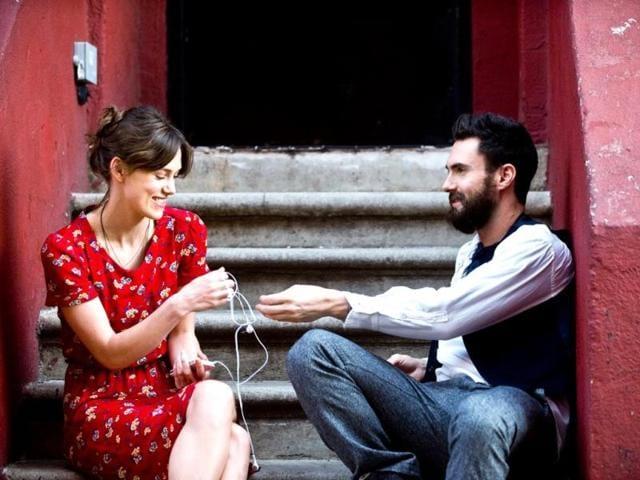 Adam Levine,Keira Knightley,begin again