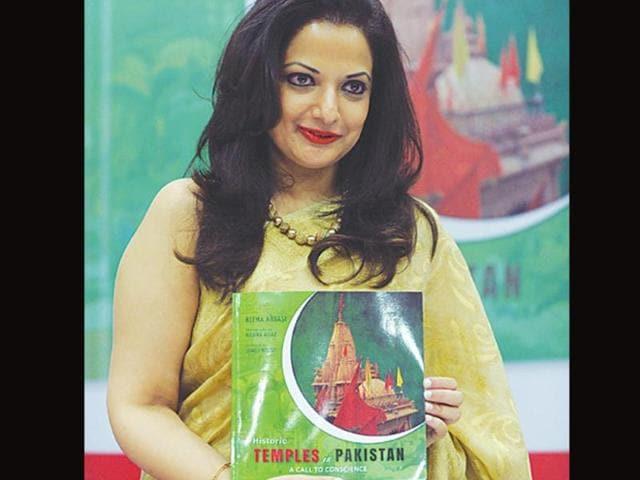 Pakistani author,Reema Abbasi,hindu temples