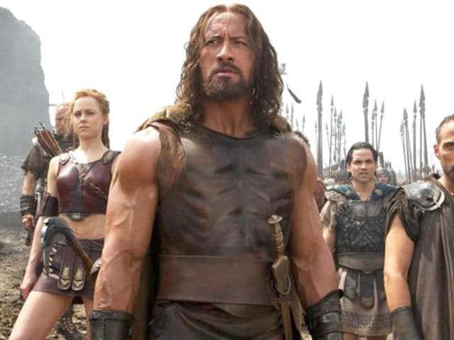 See Dwayne Johnson like you've never seen him. Hercules is in theaters Friday.