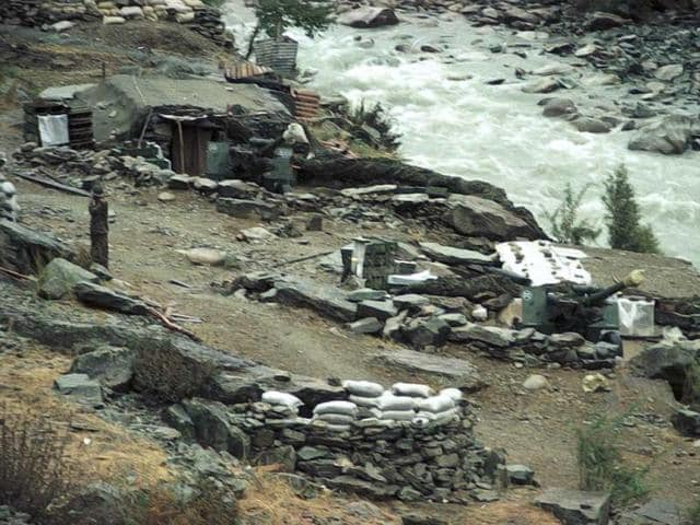 Cherikund and Kargil during the war. (Pradeep Bhatia/HT Photo)