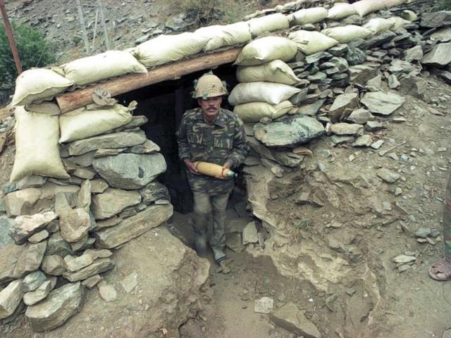 Kargil,Line of Control,Major P Acharya