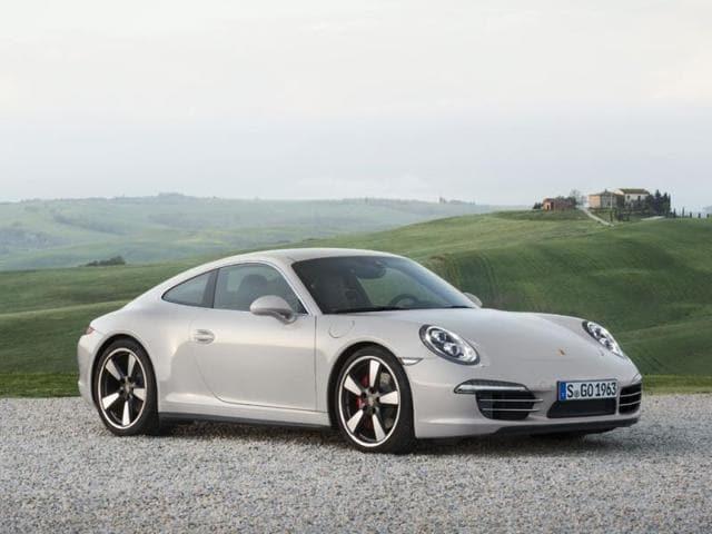 Porsche cars,Porsche 911 Edition speciale 50 ans,car technologies
