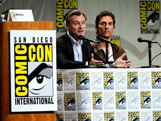 Christopher-Nolan-Matthew-McConaughey-at-Comic-Con