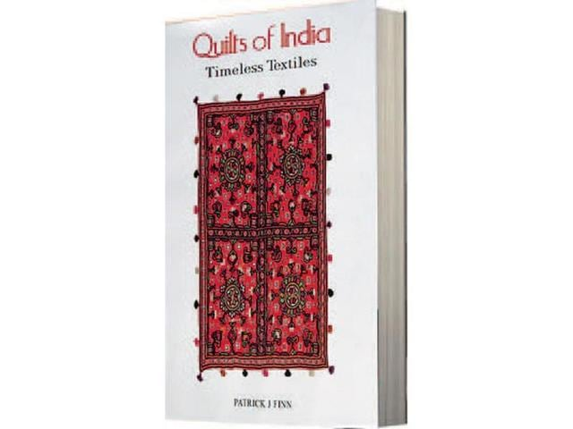 Patrick J Finn,quilts,quilts of india