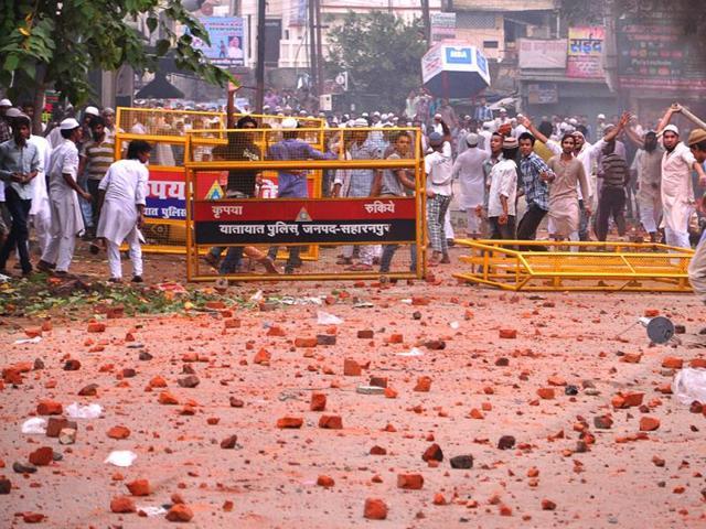 Saharanpur clashes,Saharanpur,Congress