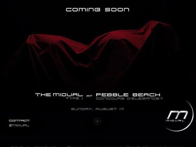 teaser de la Midual Type 1,Midual,Pebble Beach Concours d'Elegance