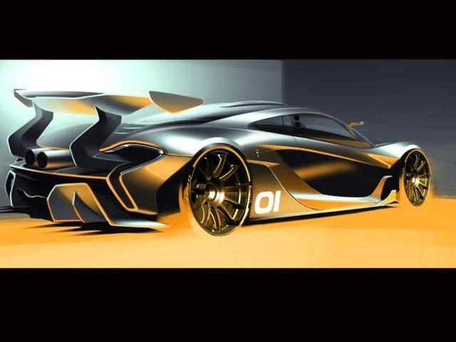 The-McLaren-P1-GTR-design-concept-Photo-AFP