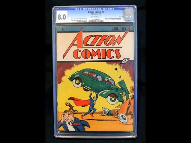 A-copy-of-Action-Comics-1-from-1938-is-pictured-on-February-23-2010-in-New-York-after-selling-for-1-million-making-it-the-first-ever-million-dollar-comic-book-at-the-time-AFP-PHOTO