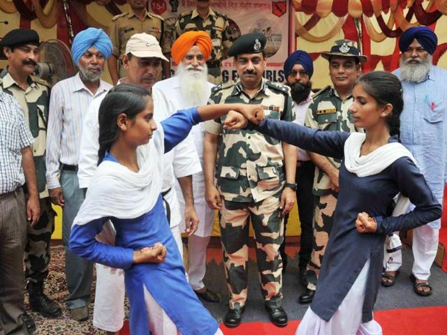 Amritsar,Border Security Force,self defence for girls