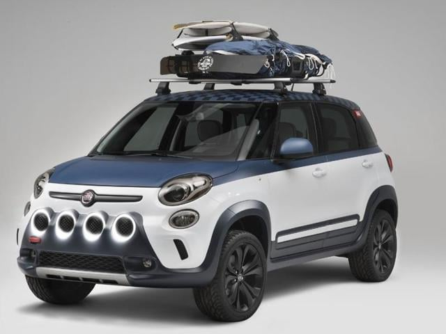 Surf's up for latest Fiat concept