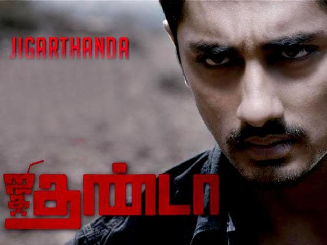 Audience will see Siddharth in a new avatar. Otherwise known for his boy-next-door roles, Siddharth will shed his chocolate boy image for a more macho makeover. (jigarthanda/Facebook)