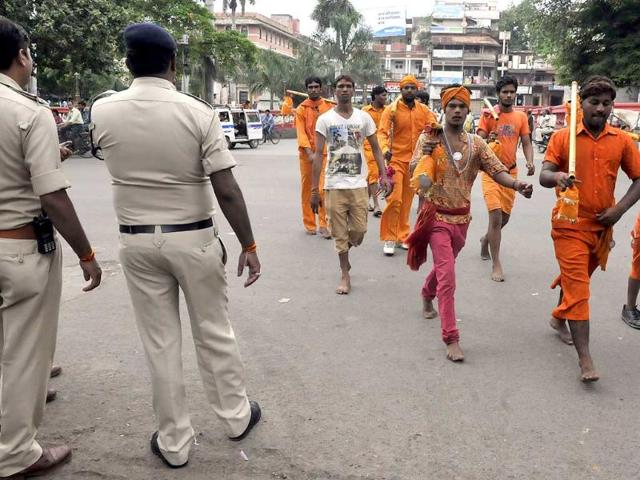 Dhar,Madhya Pradesh,tension