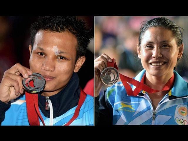 Laishram Sarita Devi,Laishram Devendro Singh,Commonwealth Games