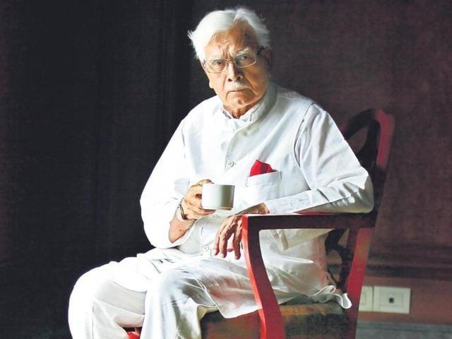 Former-external-affairs-minister-K-Natwar-Singh--has-penned-an--autobiography-One-Life-is-not-Enough-Raj-K-Raj-HT-photo