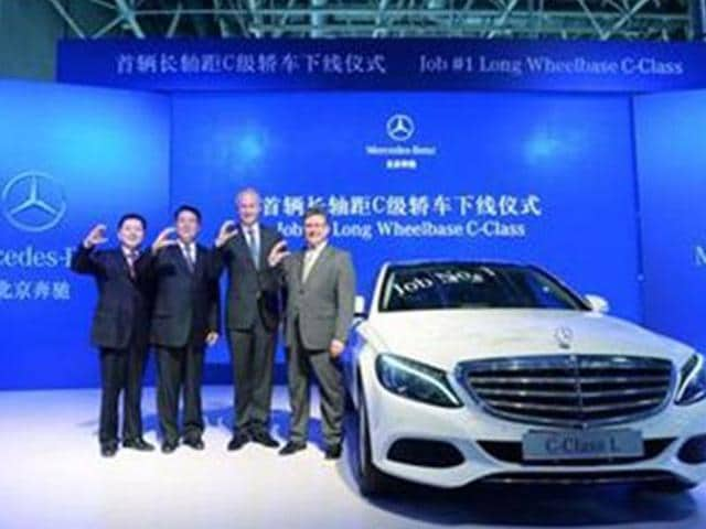 Mercedes-starts-production-of-C-class-L-in-China
