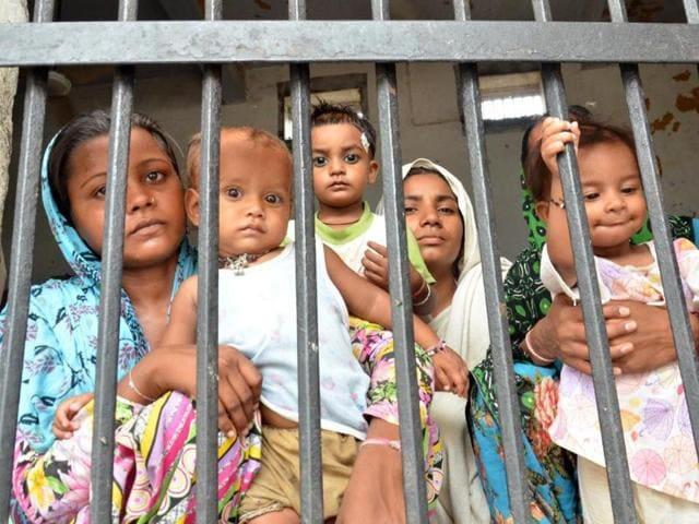 Amritsar,central jail,200 women
