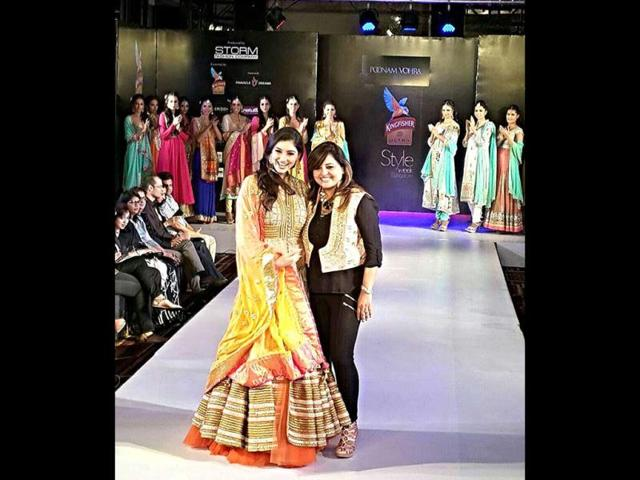Poonam-Vohra-a-designer-from-Indore-showcased-her-collection-at-Style-Week-Bangalore-recently-HT-Photo