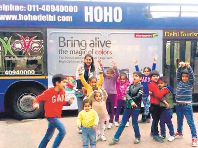 HOHO,Hop on Hop Off,Delhi Tourism