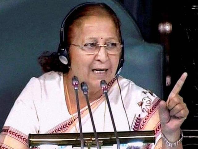 Speaker-Sumitra-Mahajan-in-the-Lok-Sabha-in-New-Delhi-PTI-Photo