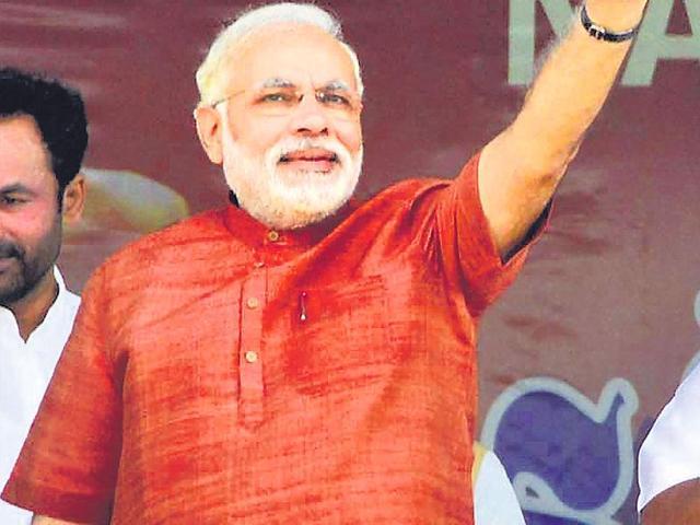 Narendra Modi praises Amit Shah, calls him man of the match in 2014 LS polls