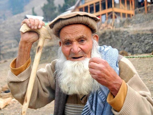 Pakistan occupied Kashmir,POK,centenarian