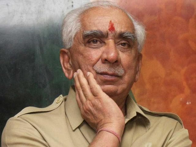 Jaswant-Singh-was-elected-to-Rajya-Sabha-in-1980-He-served-as-finance-minister-in-the-Atal-Bihari-Vajpayee-govt-from-May-16-1996-to-June-1-1996-HT-Photo