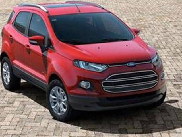 ford,EcoSport,compact SUV