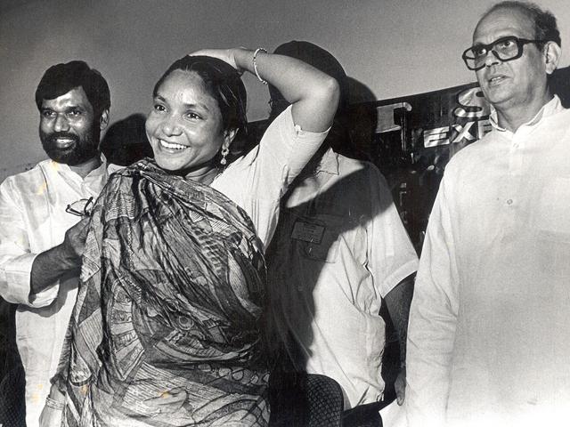 Phoolan-Devi-at-a-dalit-seva-conference-in-Delhi-HT-File-Photo