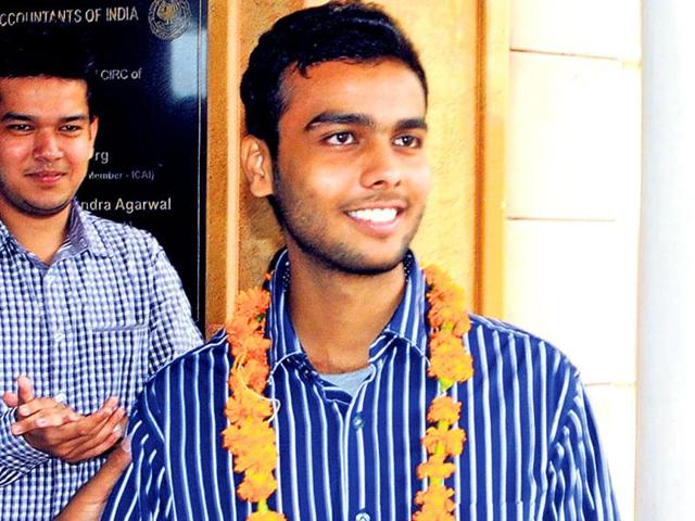 Jaipur boy Sanjay Nawandhar tops all-India CA final exams