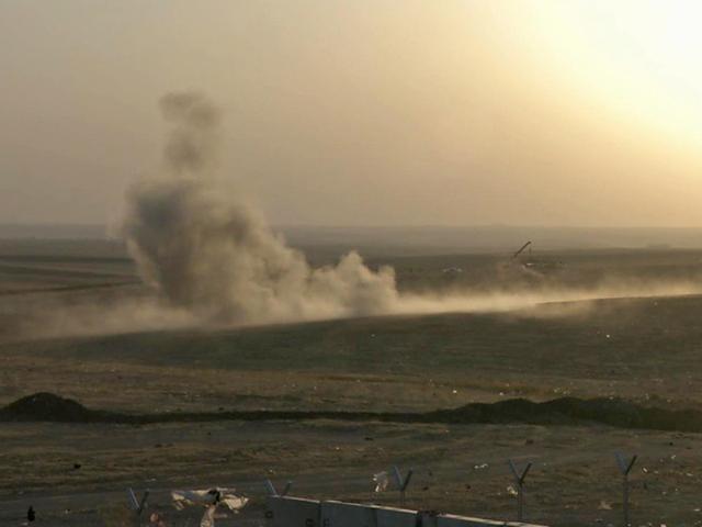 Iraq air strike kills 7 in hospital near Kirkuk