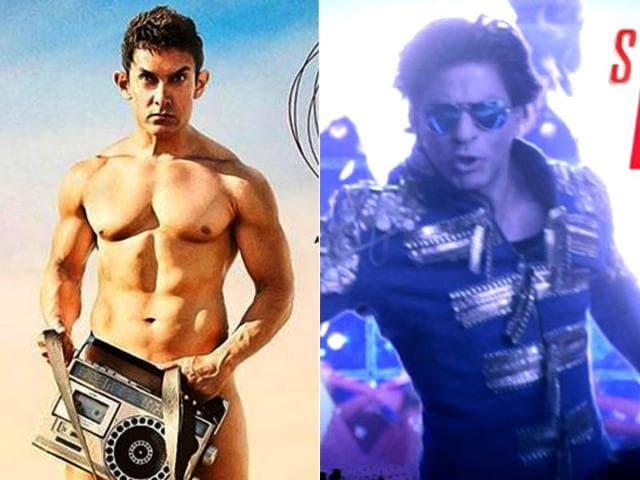 Shah Rukh Khan,Aamir Khan,Happy New Year