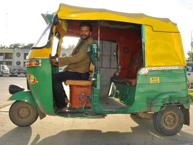 Anil-Tomar-has-midwifed-scores-of-deliveries-by-ferrying-expectant-mothers-to-hospitals-and-nursing-homes--in-Indore-Amit-K-Jaiswal-HT-photo